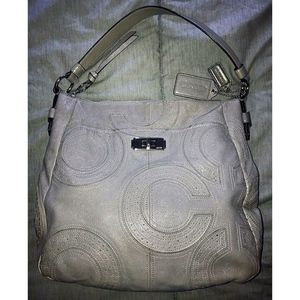 Coach Chelsea Gray Inlaid Ashlyn Hobo Bag
